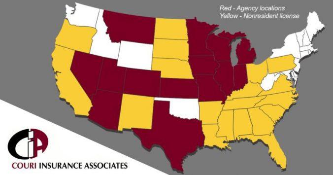 Couri Associates Map